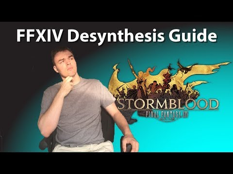 Crafting Guide Ffxiv Stormblood