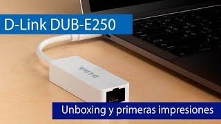 D-Link DUB-E250: Adaptador USB tipo C a puerto de red 2.5G Multigigabit