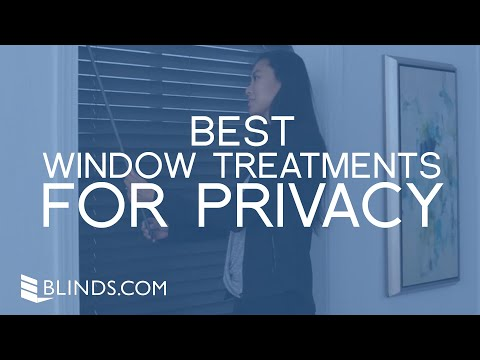 Best Window Treatments For Privacy | Blinds.com