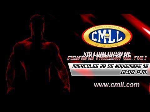 CMLL XIII CONCURSO DE FISICOCONSTRUCTIVISMO