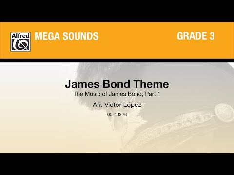 James Bond Theme, arr. Victor López - Score & Sound