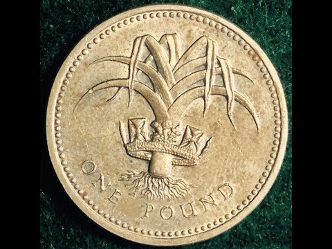 1985 One Pound Coin United Kingdom (UK)