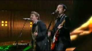 Mor ve Ötesi - Deli | Turkey Eurovision 2008