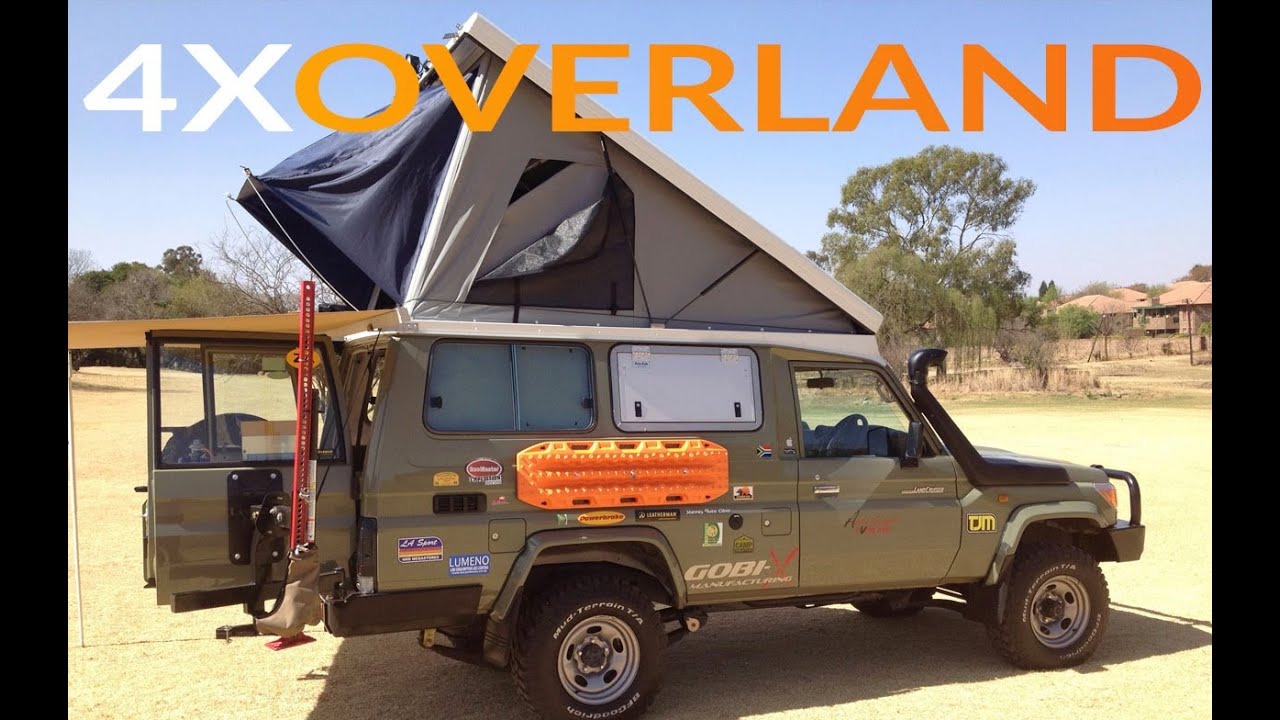 Landcruiser Troopy Camper Extraordinary Part 1 Youtube