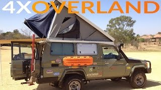 Landcruiser Troopy Camper Extraordinary. Part-1