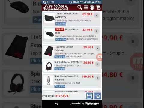 Download Concours PC top achat a 4177.69 € description