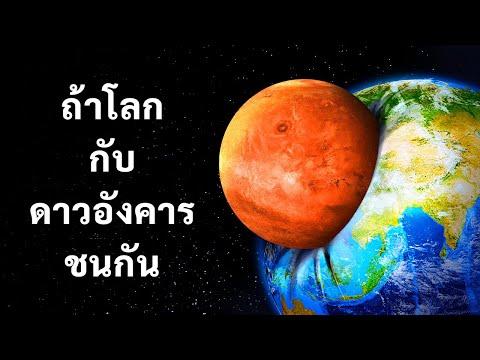 ถ้าโลกเราชนกับดาวอังคาร ดาวไหนจะรอด