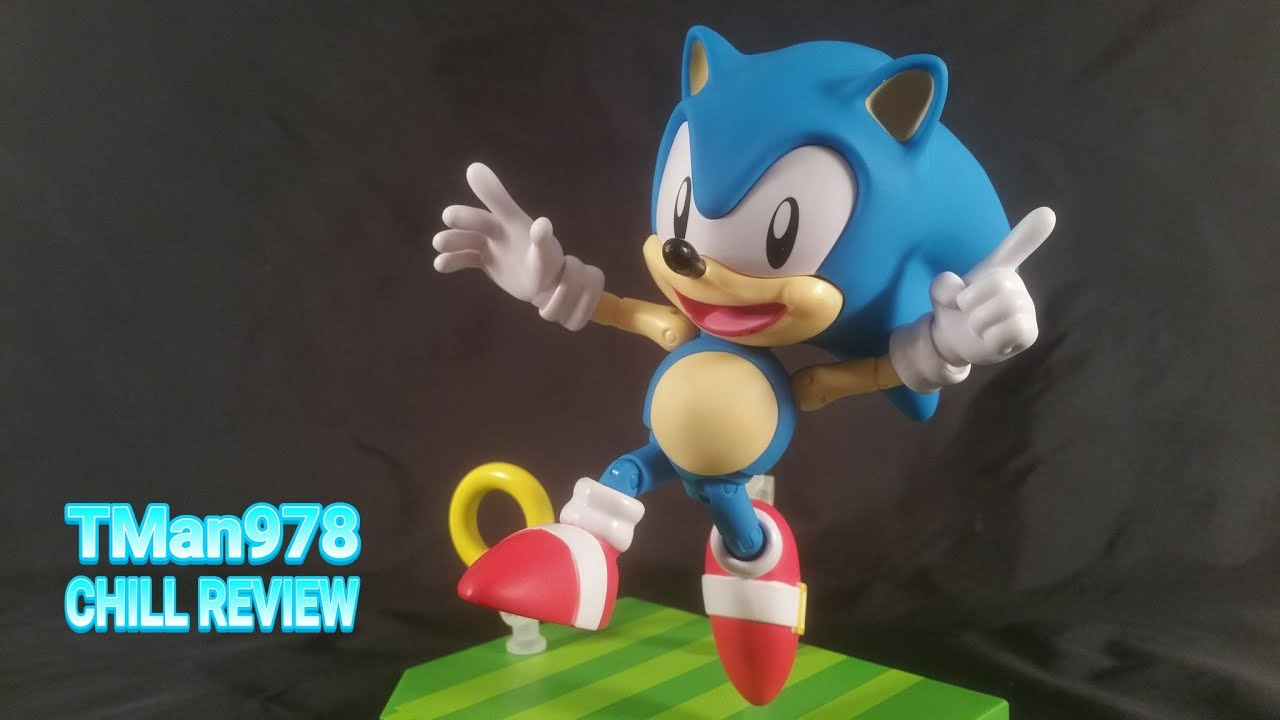 Tomy Collectors Edition Sonic The Hedgehog 1991 Action Figure Chill Review Youtube