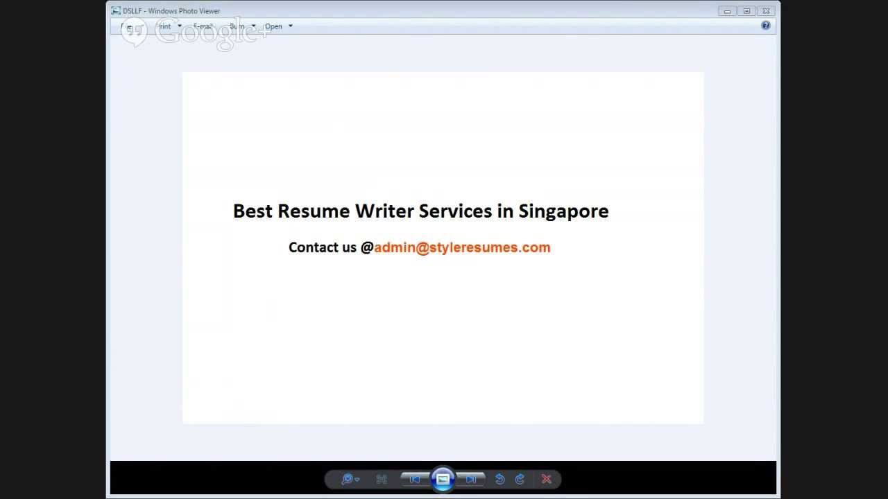 Best Resume Writer Services In Singapore Youtube