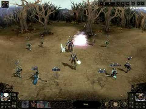 Etherlords 2 gameplay : Spirits vs Hoppers |