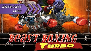 Beast Boxing Turbo Speedrun, Any% (Easy Difficulty) in 14:24.23