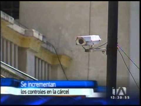 Se incrementa los controles  de seguridad luego de la fuga del expenal García Moreno