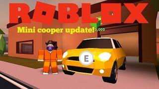 Roblox | Jailbreak (Beta) | Mini Cooper update!