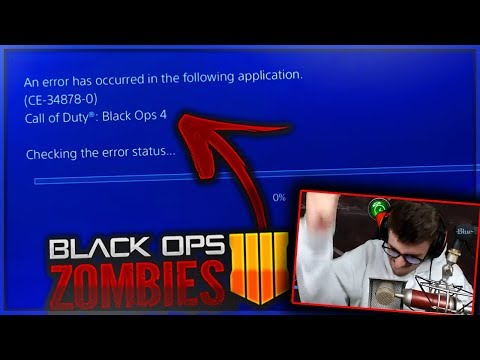 """""""CALL OF DUTY ZOMBIES : BLUE OPS SCREEN"""" 