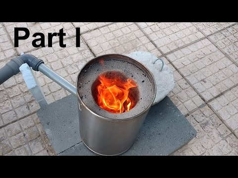 How To Make a Small Metal Furnace ( Foundry / Smelter ) - Part I