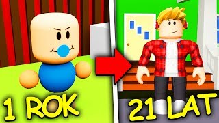 OD DZIECKA  DO DOROSŁEGO ‍! | ROBLOX - GROWING UP
