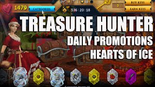 Runescape: 250 Hearts of Ice use them Wisely (Treasure Hunter)