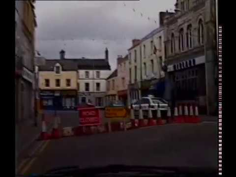 BRIDGEND Town drive through 1997