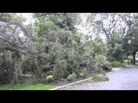 Tropical Storm Irene, Huntington Bay, NY