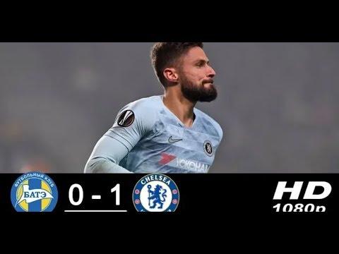 Bate Borisov - Chelsea 0-1 Highlights & Goals - HD Mp3