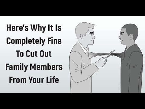 When To Cut Toxic Family Members From Your Life