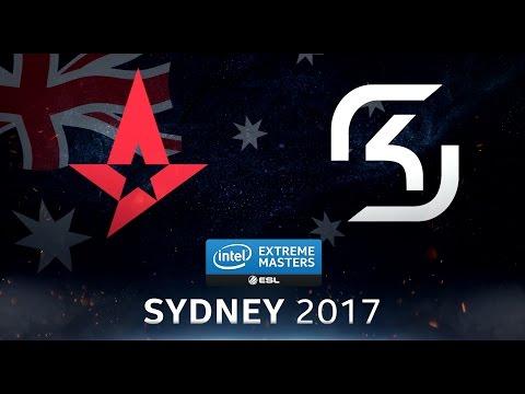 CS:GO - Astralis vs. SK [Inferno] - Swiss Round 3 - IEM Sydney 2017