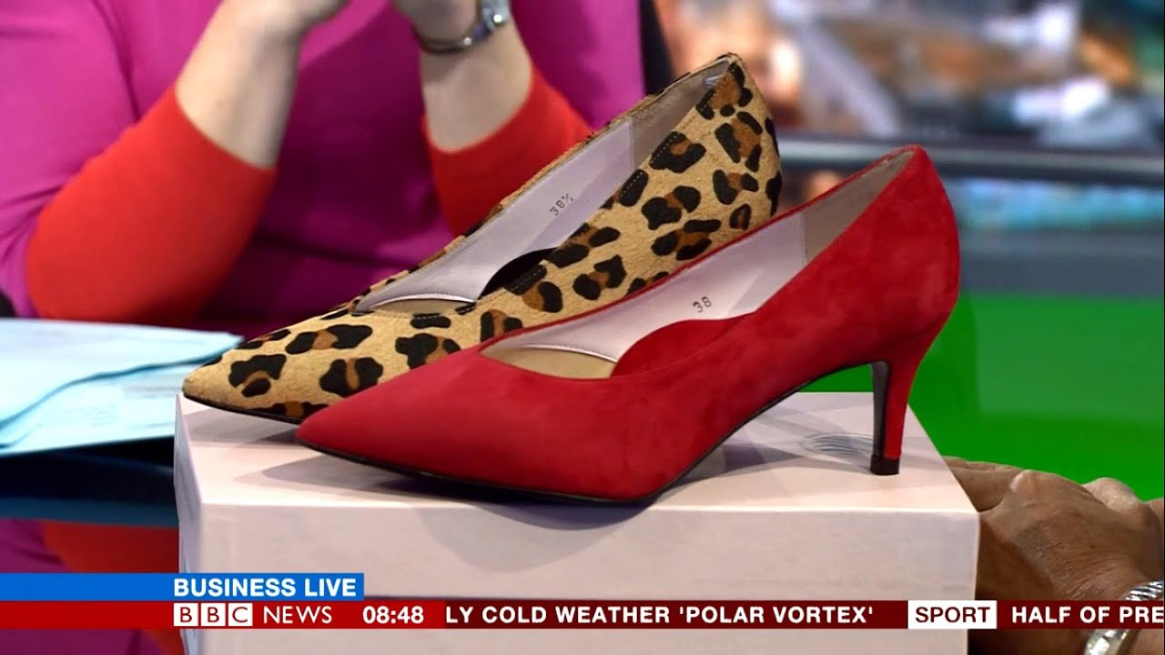 48c71667ae1e BBC News  Business Live  Invites Sole Bliss Shoes founder Lisa Kay to  Discuss Bunion Shoe Business