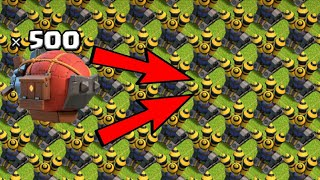 FULL BASE MAX AIR DEFENCE VS MAX 500 BATTLE BLIMP | CLASH OF CLANS PRIVATE SERVER | ABHIJEET GAMER