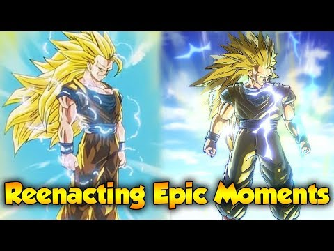 Epic Moments in Dragon Ball Z - Part 2 - Dragon Ball Xenoverse 2
