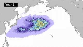 Japan Tsunami debris tracked across Pacific Ocean