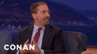 Donald Trump Recommended Propecia To Chuck Todd  - CONAN on TBS