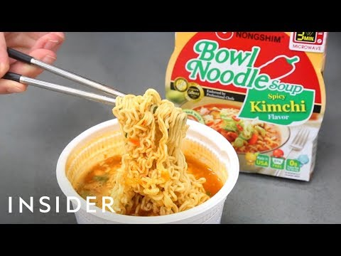 How Instant Noodles Are Made