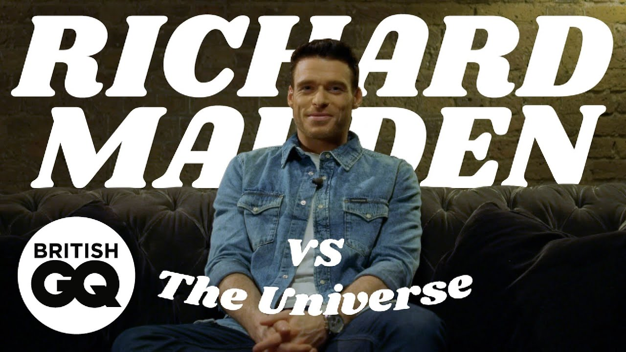 Richard Madden answers the questions fans really want to know | Vs The Universe | British GQ