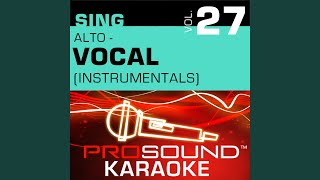 I Won't Last A Day Without You (Karaoke With Background Vocals) (In the Style of Carpenters)