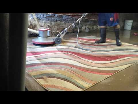 Rug Washing & Cleaning Process