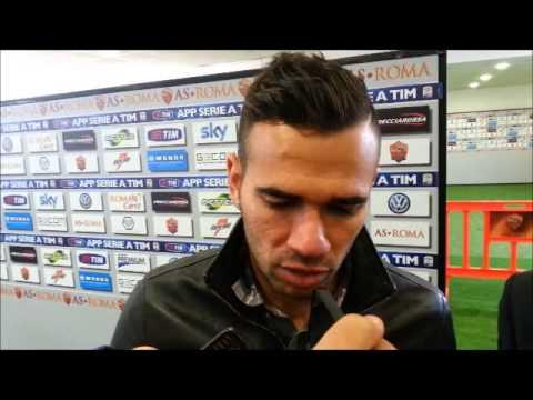 Intervista Leandro Castan nel dopo-partita di Roma-Cagliari (0-0)