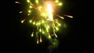 Feux artifice 12 juillet 2013 Auberge du lac  laval de cere