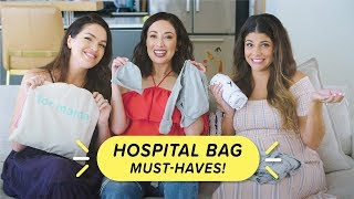 Hospital Bag Must-Haves: What to Bring When You Give Birth + Giveaway!