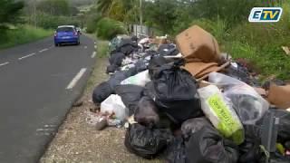 Comment expliquer les amoncellements de déchets sur le Nord-Basse Terre?