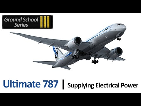 Video: QualityWings 787 Electrical Power Application
