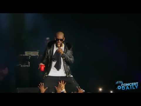 R. Kelly - Your Body's Callin' & 12 Play (Buffet Tour Baltimore 10-1-16)
