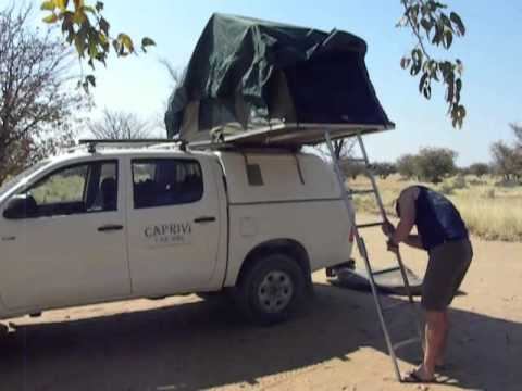 Camp Setup Caprivi Toyota Hilux Youtube