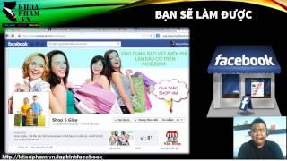 Lập trình ứng dụng Facebook