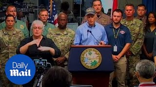 Florida governor expresses his concerns over Hurricane Michael