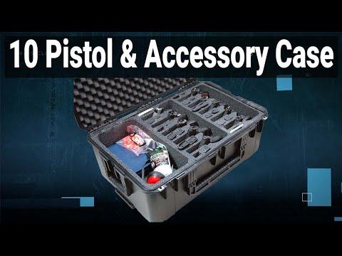 10 Pistol & Accessory Case - Video