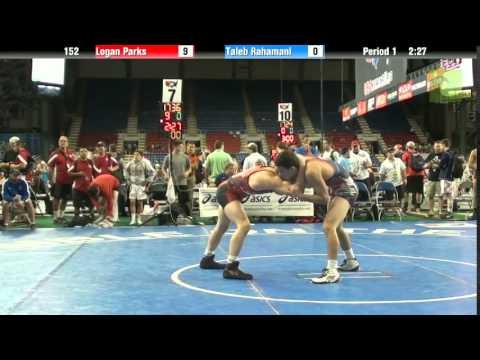 152 Logan Parks vs. Taleb Rahamani