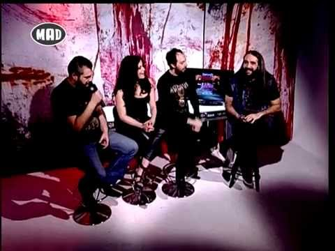 Arch Enemy,  Paradise Lost, & Caelestia interview (TV WAR 11/5/15)