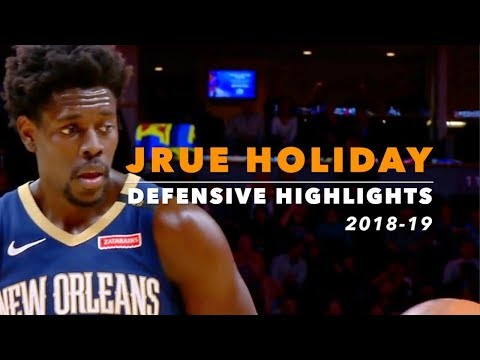 Jrue Holiday Defensive Highlights | 2018-19 | New Orleans Pelicans