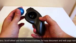 Logitech M570 Wireless Trackball Unboxing