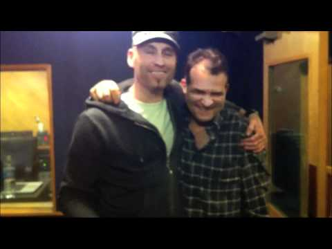 Matt Scannell of Vertical Horizon & Michael Tolcher recording at Studio City Sound